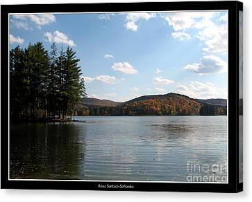 Red House Lake Allegany State Park Ny Canvas Print