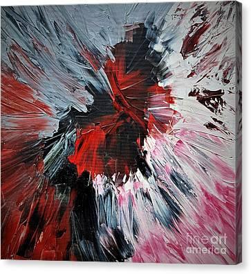 Red Impaso Canvas Print
