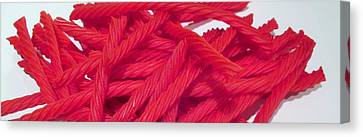Red Licorice  Canvas Print by Martin Cline