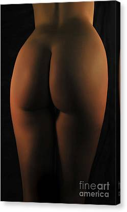 Red Light Bum Canvas Print by Robert WK Clark