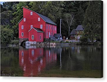 Red Mill Canvas Print