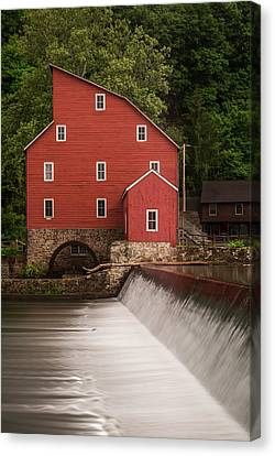 Red Mill Clinton New Jersey Canvas Print