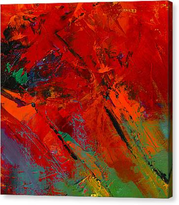 Bold Colors Canvas Print - Red Mood by Elise Palmigiani