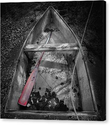 Red Oar Canvas Print by Dapixara Art