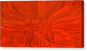 Red-palace Canvas Print by Ramon Labusch