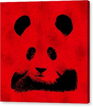 Communism Canvas Print - Red Panda by Laura Brightwood