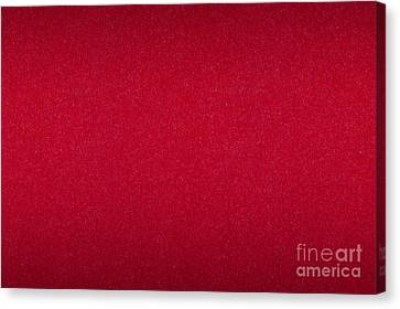 Red Paper Cardboard Texture Canvas Print by Arletta Cwalina