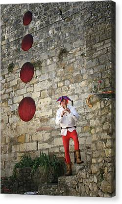 Red Piper Canvas Print