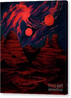Red  Planet Canvas Print by Diana Dearen