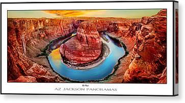 Epic Canvas Print - Red Planet Panorama Poster Print by Az Jackson
