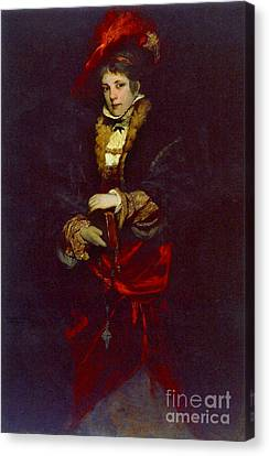 Red Plume 1873 Canvas Print by Padre Art