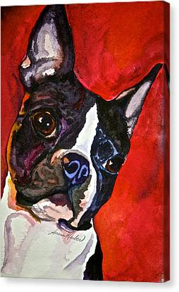 Red Rascal Canvas Print by Susan Herber