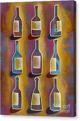 Red Red Wine Canvas Print by Carla Bank
