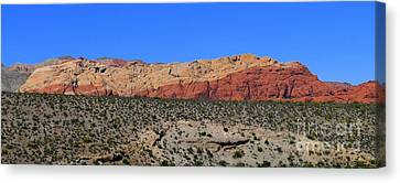Canvas Print - Red Rock Canyon Nevada - 72 by Mary Deal