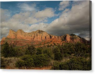 Canvas Print featuring the photograph Red Rock Country Sedona Arizona 3 by David Haskett