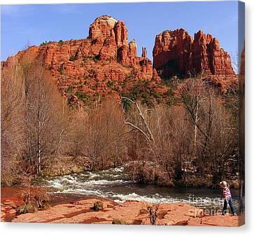 Red Rock Crossing Sedona Arizona Canvas Print