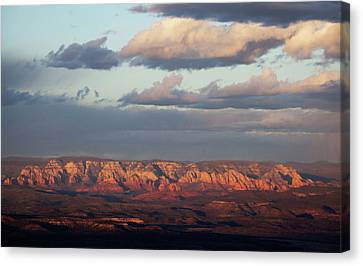 Canvas Print featuring the photograph Red Rock Crossing, Sedona by Ron Chilston