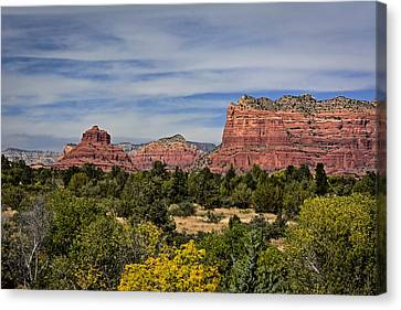 Red Rock Scenic Drive Canvas Print