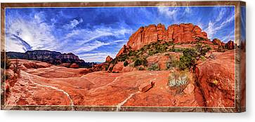 Red Rock Spirit 2 Canvas Print by ABeautifulSky Photography