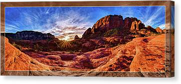 Canvas Print featuring the photograph Red Rock Spirit by ABeautifulSky Photography