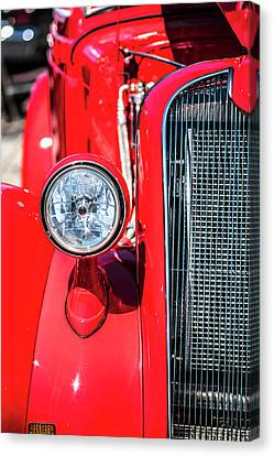 Red Rod Canvas Print