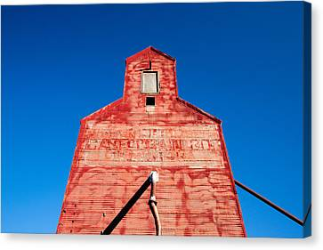 Red Roof Canvas Print by Todd Klassy