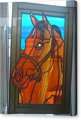 Red Rum Canvas Print by Robin Jeffcoate