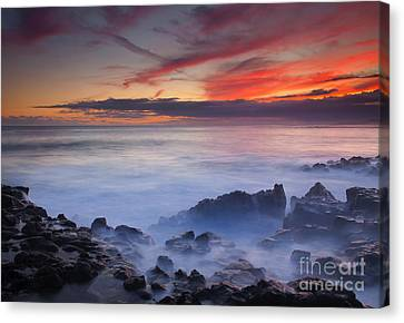 Red Sky Kauai Canvas Print