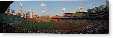 Red Sox Yankees Rivalry Canvas Print by Juergen Roth