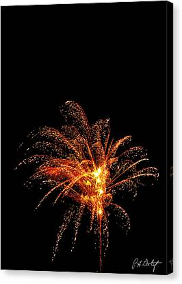 Red Splash Canvas Print by Phill Doherty