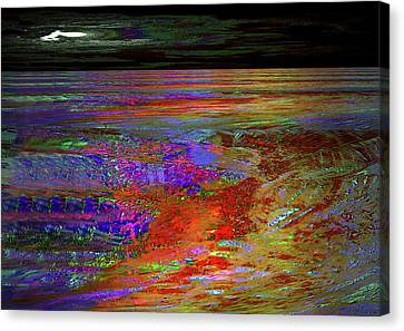 Red Tide Canvas Print by Irma BACKELANT GALLERIES