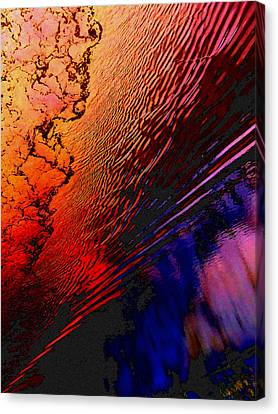 Red Tide Canvas Print by Randall Weidner