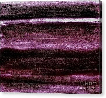 Red To Black Canvas Print by Marsha Heiken