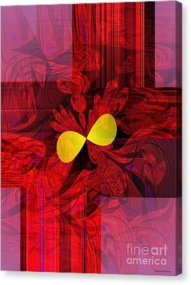 Red Transparency Canvas Print