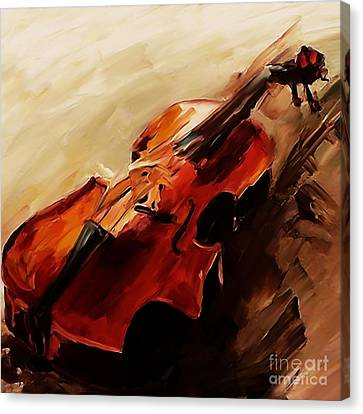 Red Violin  Canvas Print