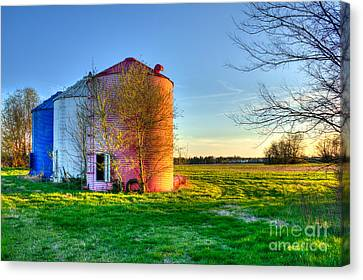 Red White And Blue Glory Canvas Print by Reid Callaway