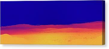 Red Yellow Blue Canvas Print by Gilbert Artiaga