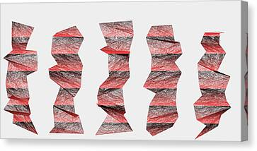 Red.339 Canvas Print by Gareth Lewis