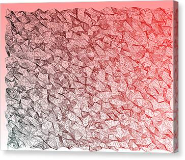 Red.351 Canvas Print by Gareth Lewis