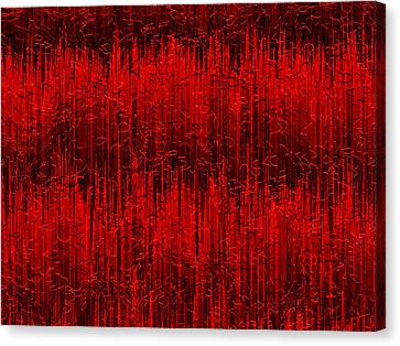 Red.399 Canvas Print by Gareth Lewis