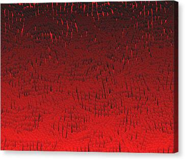 Red.420 Canvas Print by Gareth Lewis