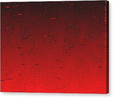 Red.425 Canvas Print by Gareth Lewis