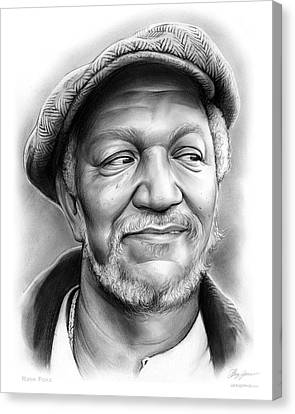 Redd Foxx Canvas Print by Greg Joens