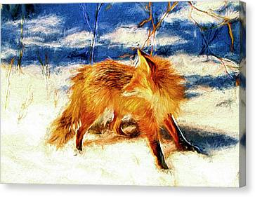 Redd Foxx Series Canvas Print by Geraldine Scull