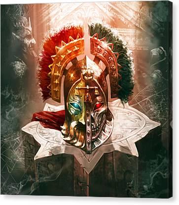 Redeemer's Helm Canvas Print