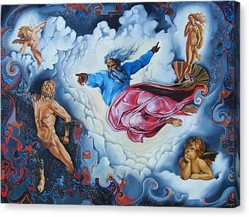 Redemption Canvas Print by Darwin Leon
