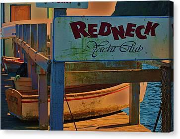 Redneck Yacht Club Canvas Print