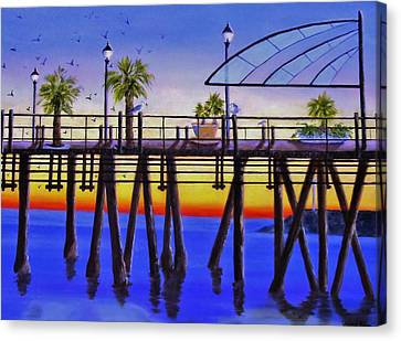 Redondo Beach Pier Canvas Print by Jamie Frier