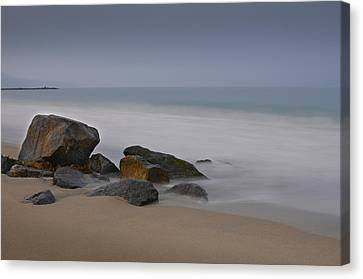 Redondo Rocks Canvas Print by Kevin Bergen