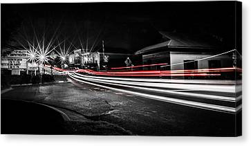 Reds In Downtown Helena Canvas Print